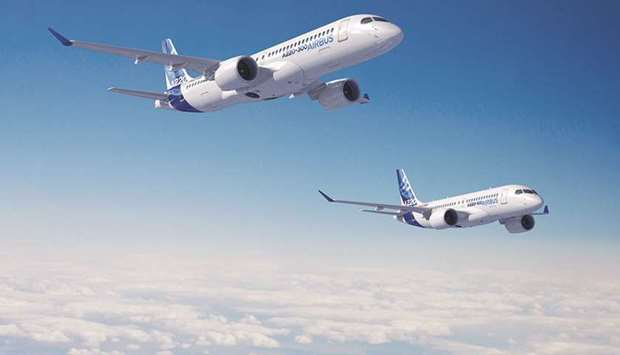 Airbus announces 'performance improvement' to latest single-aisle aircraft — the A220 Family