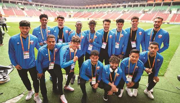 U-20 Qatar Players