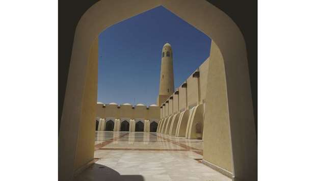 Sheikh Muhammad ibn Abdul Wahhab Mosque in Doha.