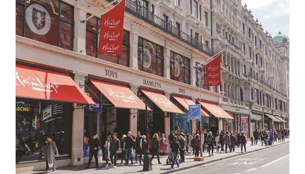 The Hamleys Group Ltd flagship store