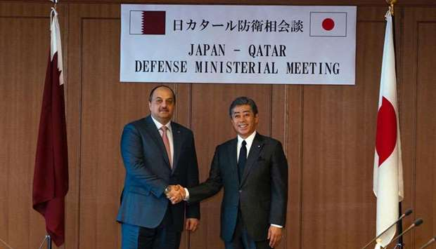 Talks on Qatar-Japan defence ties