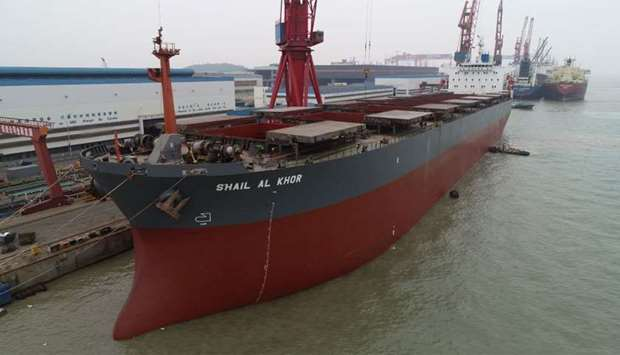 The company is engaged in world-wide transportation of dry bulk cargoes such as wheat, grain, soyabe