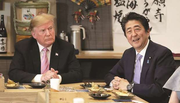 Donald Trump & Shinzo Abe