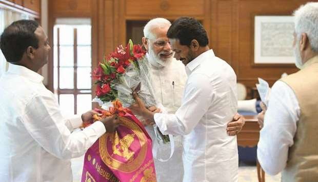 Jaganmohan Reddy  and Narendra Modi
