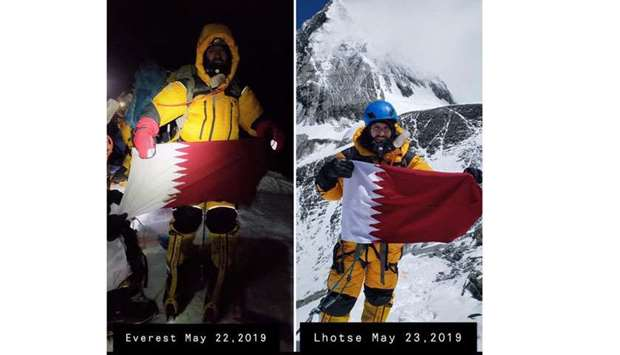 Qatar's Fahad becomes first Arab to scale Everest and Lhotse peaks