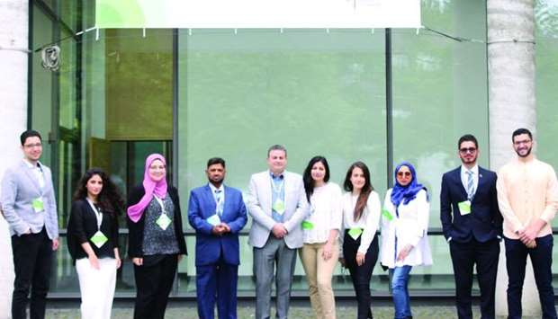 QU students and faculty who attended the 2nd World Congress on Undergraduate Research in Germany.