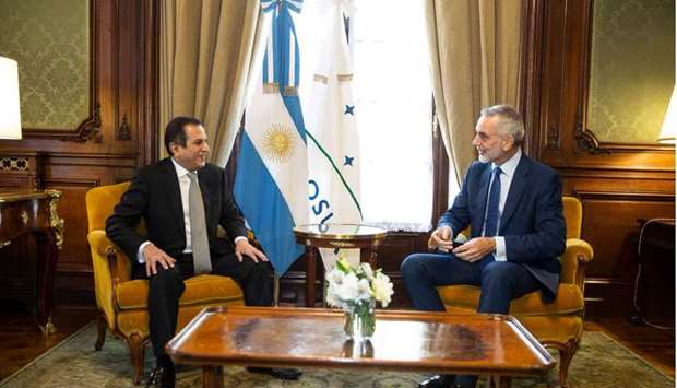 FM sends message to Argentine minister