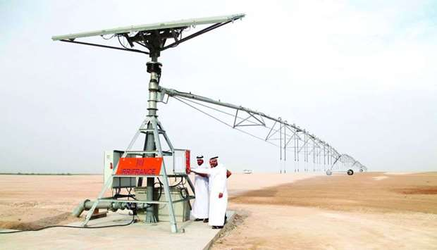 Hassad's new solar project seeks to enhance fodder production