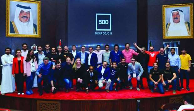 Participants who attended the third edition of the Mena Dojo Series A Programme in Kuwait.