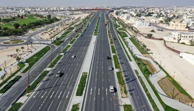 Most parts of the Khalifa Avenue Project have been opened to traffic, contributing immensely to impr