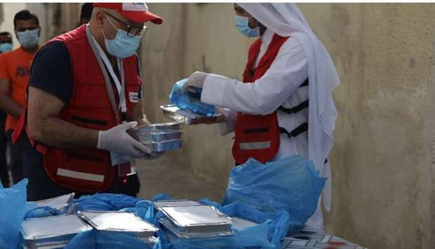 So far, over 55,000 Iftar meals have been given to beneficiaries across the country.