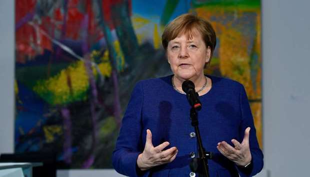 Merkel: (Restrictions to fundamental rights) were necessary, and we have always justified this becau