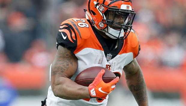Cincinnati Bengals running back Joe Mixon.