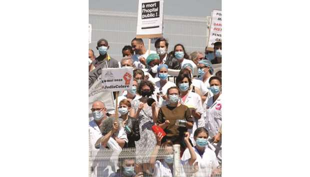 French health workers