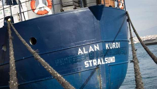 German migrant rescue ship Alan Kurdi