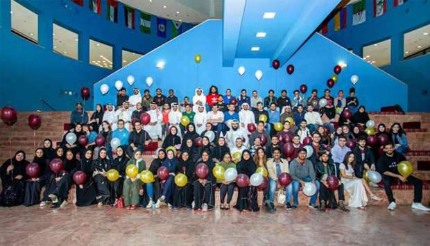 The Class of 2020 of Texas A&M University at Qatar.