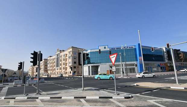Al Mirqab & Mohamed Bin Al Qassim Intersection