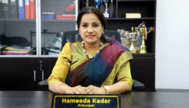 MES Indian School principal Hameeda Kadar is appointed the counsellor for Qatar region to provide pr