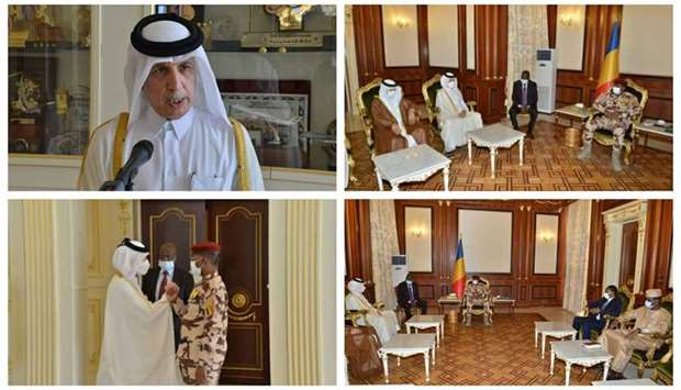 During the meeting, they reviewed bilateral co-operation relations between the two countries.