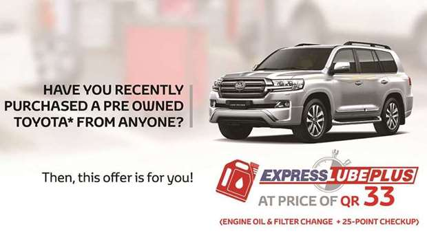 Any person or organisation purchasing a pre-owned Toyota vehicle from anyone, between April 24 and J