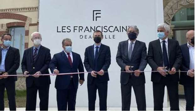 Qatar's Ambassador to France attends opening ceremony of Les Franciscaines