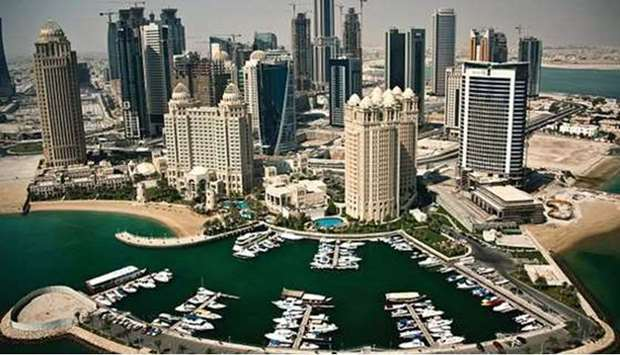 Qatar's current account balance is expected to bounce back to 7.1% this year and 7.9% in 2022 from -