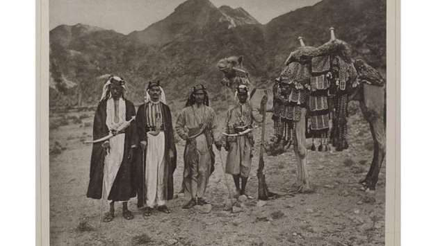 Men from the Arabia (1886-1889).
