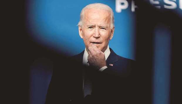 UNEQUIVOCAL: The Biden administration has made human rights a centrepiece of its foreign policy. (Re