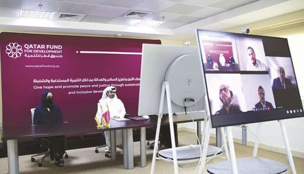The agreement, signed via video conference, is part of Qatar's programme for scholarships that is ov