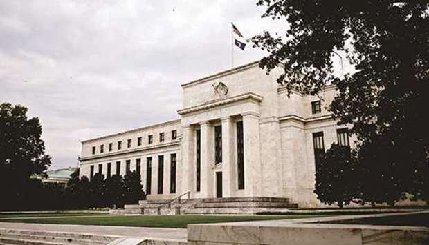 The Federal Reserve building in Washington, DC. As the pullback in Fed monetary support draws inexor