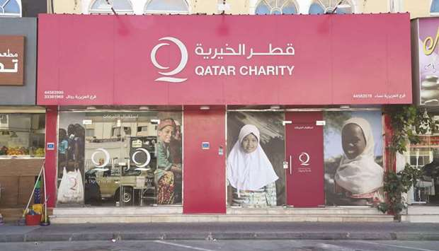Qatar Charity offers various options for Zakat and donations.
