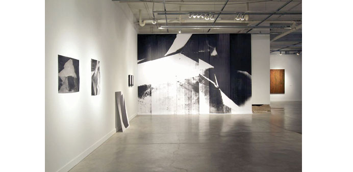 ON DISPLAY: Sage Lewis's recent work from 2014.