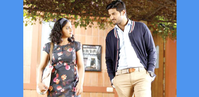 LOVE STORY: A screen grab from Mani Ratnam's latest film.