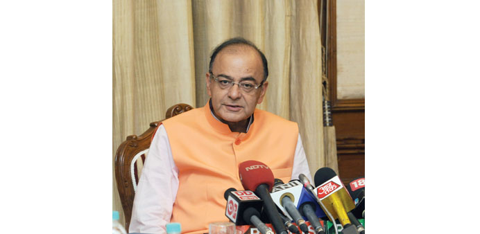 Jaitley: Inflationary pressures are now moderating.