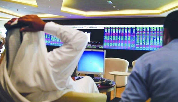 Day after the slide, QSE gains on buying support
