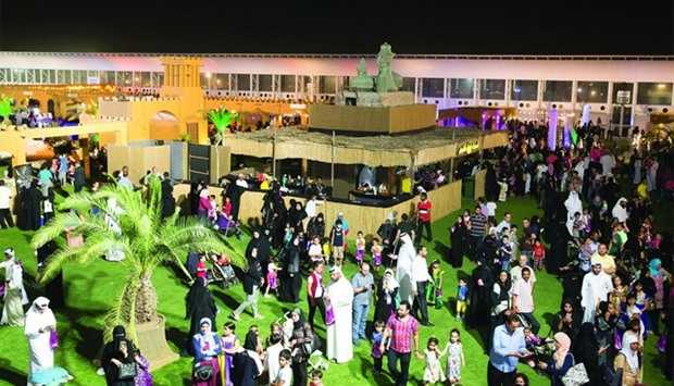 A large number of visitors took part in AZF's Garangao celebration.