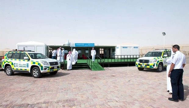 Sealine Medical camp