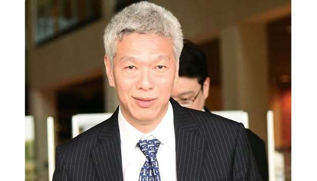 Lee Hsien Yang, younger brother of Singapore's prime minister Lee Hsien Loong.