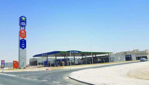 Woqod's new service station in Al Egda