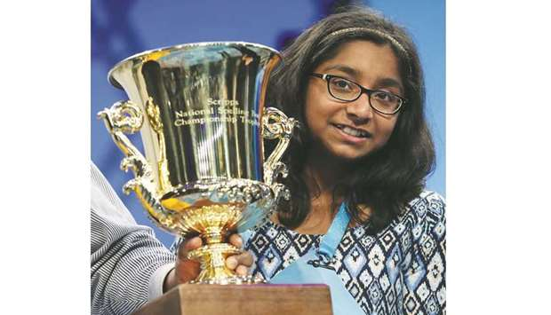 'Covfefe' stumps 2017 National Spelling Bee Champion Ananya Vinay