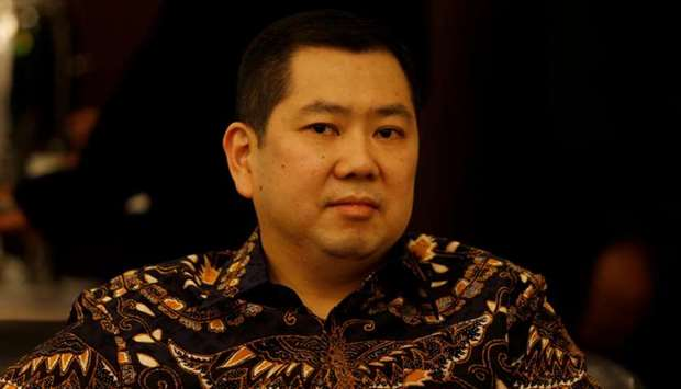 Chief Executive of Indonesia's MNC Group Hary Tanoesoedibjo