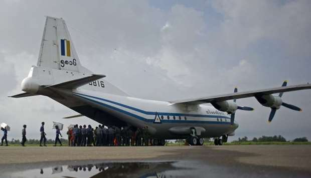 Myanmar military plane carrying 120 goes missing