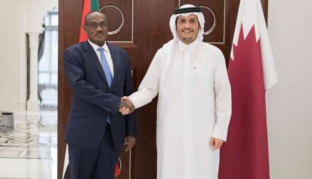 FM meets Sudanese minister