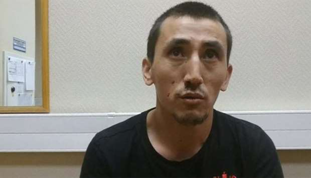 Anarbek Chingiz, taxi driver who ploughed into crowd on June 16 in central Moscow