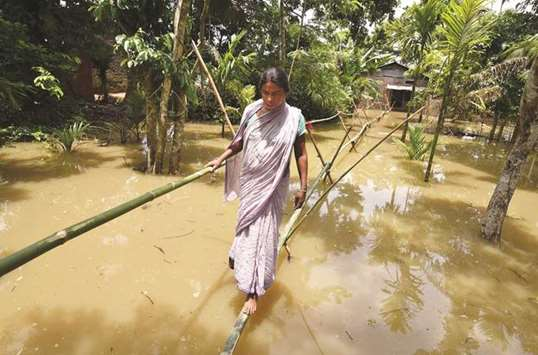Assam flood toll hits 11, over 500,000 affected