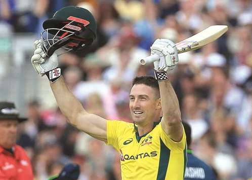 Finch, Marsh hit tons before England fight back