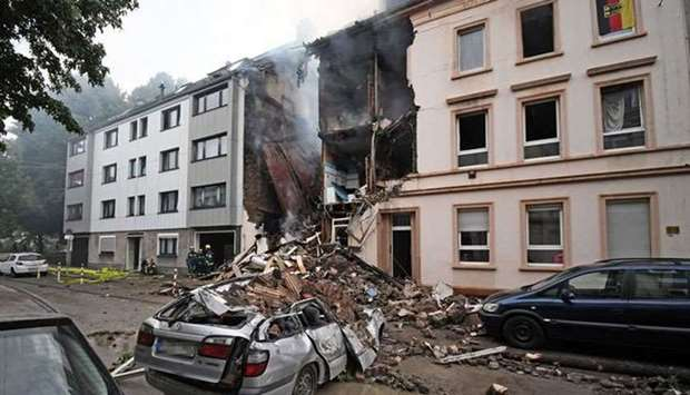 Wuppertal apartment explosion