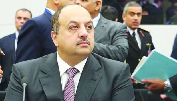 HE the Deputy Prime Minister and Minister of State for Defence Affairs Dr Khalid bin Mohamed al-Atti