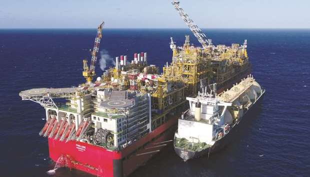 Prelude floating LNG