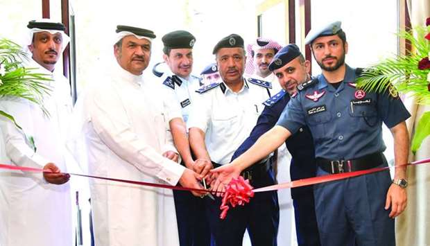 The General Directorate of Traffic director general Brigadier Mohamed bin Saad al-Kharji and UDC pre